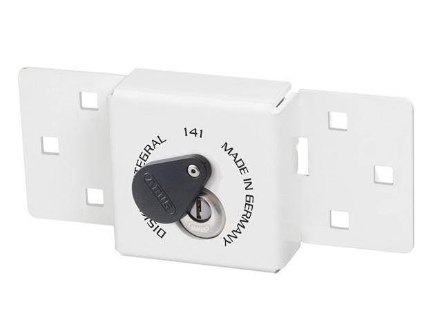 Integral Van Lock White 141/200 + 26/70 with 70mm Series 26 Diskus Padlock