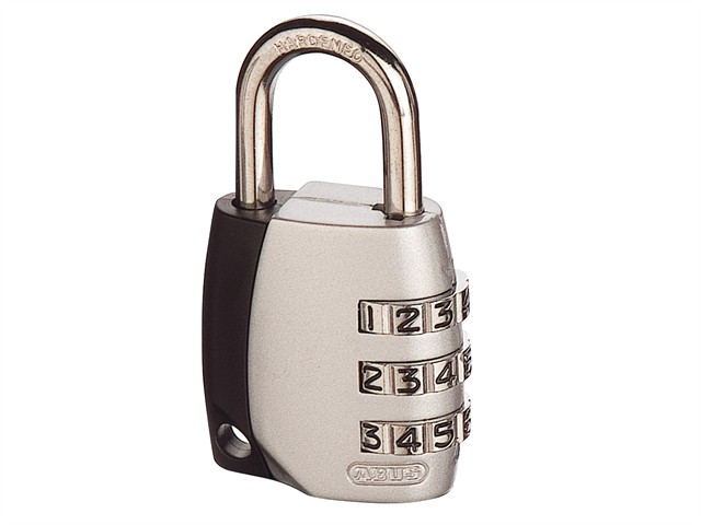 155/30 30mm Combination Padlock (3-Digit) Mixed Colour