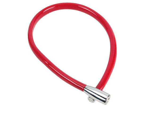 1900/55 Recoil Keyed Cable Lock Coloured 55cm x 6mm