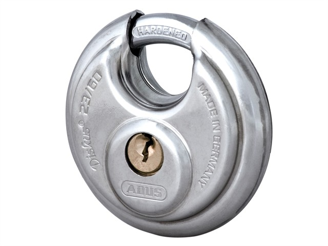 23/60 60mm Diskus Padlock Carded 44753
