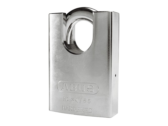 34/55mm Hardened Steel Padlock Close Shackle