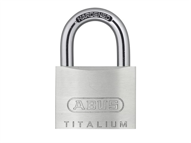 54TI/40mm TITALIUM™ Padlock Twin Pack Carded