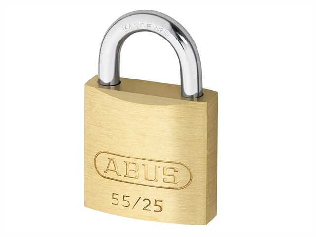 55/25 25mm Brass Padlock Carded