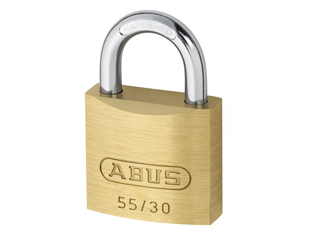 55/30mm Brass Padlock Carded