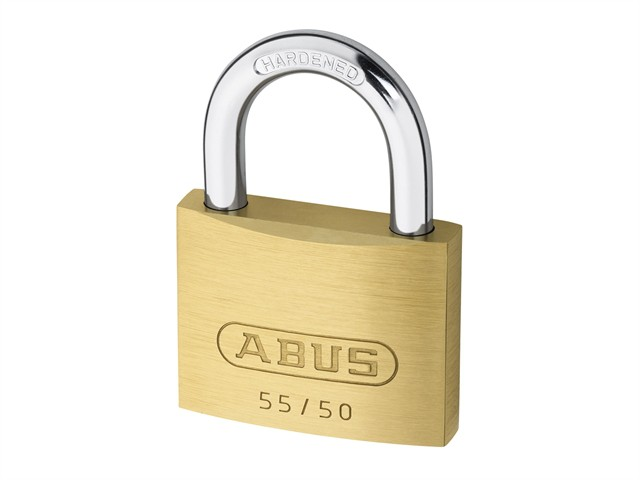 55/50 50mm Brass Padlock Carded