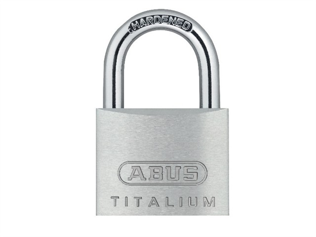 64TI/20mm TITALIUM™ Padlock Carded Twin Pack