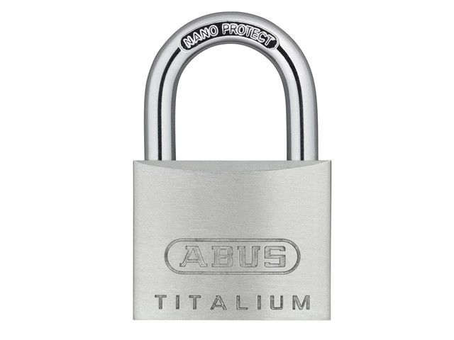64TI/30mm TITALIUM™ Padlock Carded Twin Pack