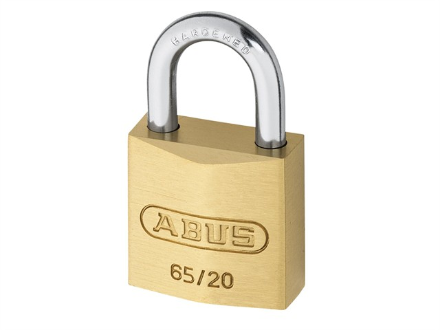 65/20 20mm Brass Padlock Carded