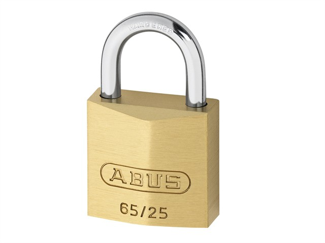 65/25 25mm Brass Padlock Keyed 253