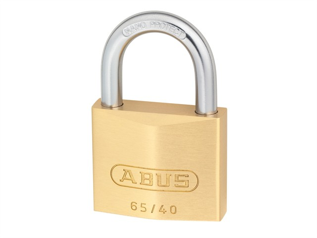65/40 40mm Brass Padlock Twin Carded