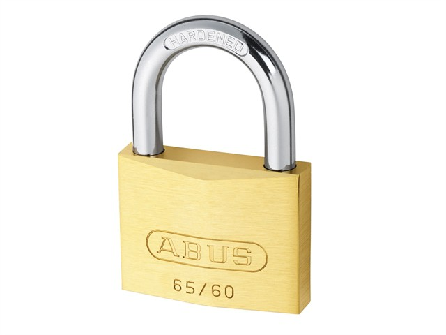 65/60 60mm Brass Padlock Keyed 6601