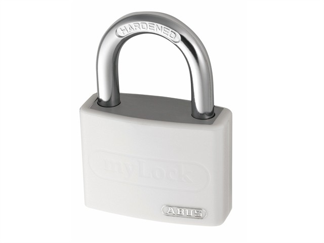 T65AL/40mm My Lock Aluminium Padlock White