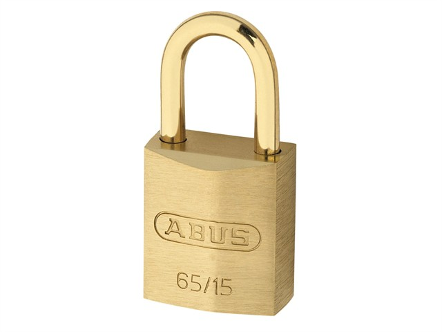 65MB/30mm Solid Brass Padlock 70mm Long Shackle Carded