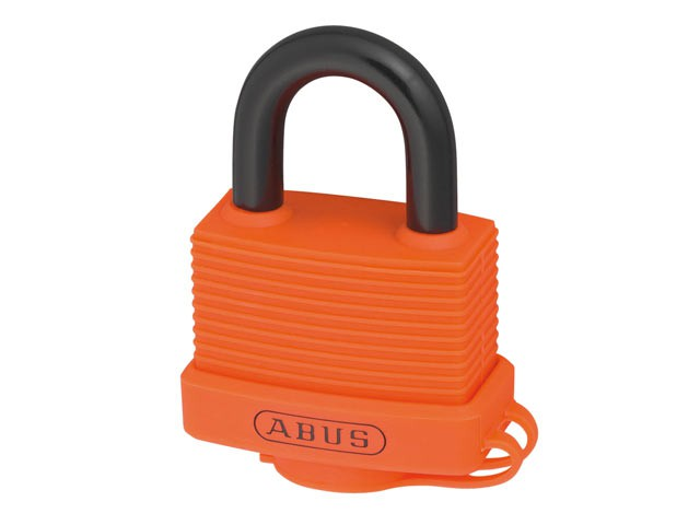 70AL/45mm Aluminium Padlock Orange
