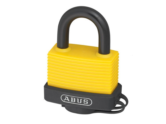 70AL/45mm Aluminium Padlock Assorted Colour Carded