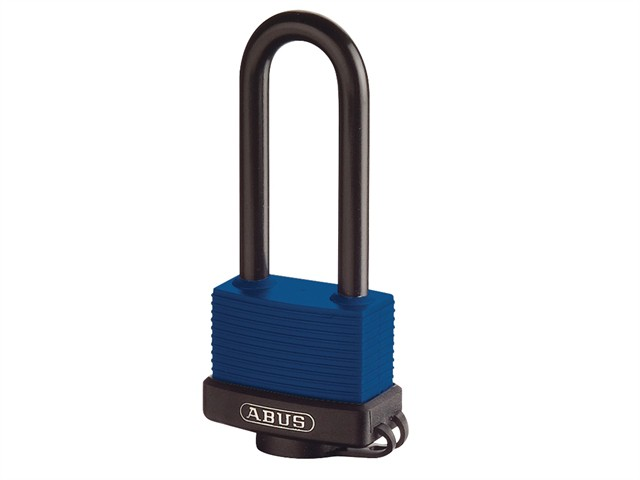 70IB/50HB80 50mm Brass Marine Padlock 80mm Stainless Shackle Carded