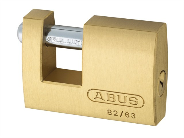 82/63 63mm Monoblock Brass Shutter Lock Keyed 8501