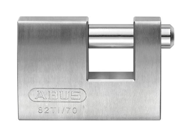 82TI/70mm TITALIUM™ Shutter Padlock Carded