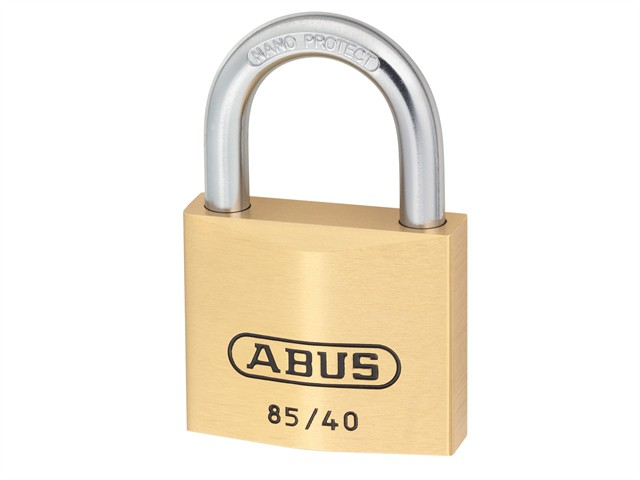 85/40 40mm Brass Padlock Carded
