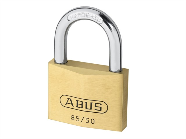 85/50 50mm Brass Padlock Carded