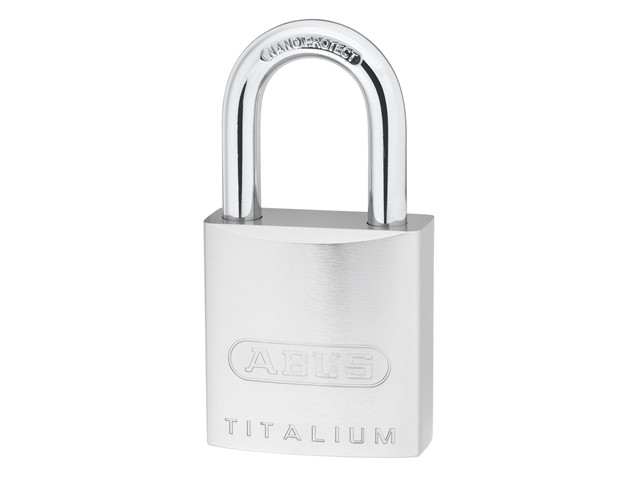 86TI/55mm TITALIUM™ Padlock Without Cylinder