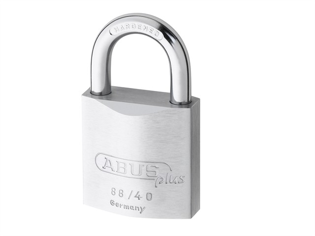 88/40 40mm Brass Padlock Plus Cylinder 35208