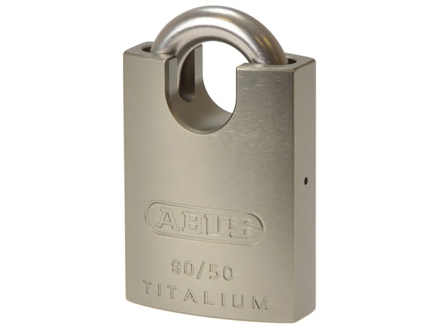90RK/50 Titalium Padlock Closed Stainless Steel Shackle Keyed KA2745