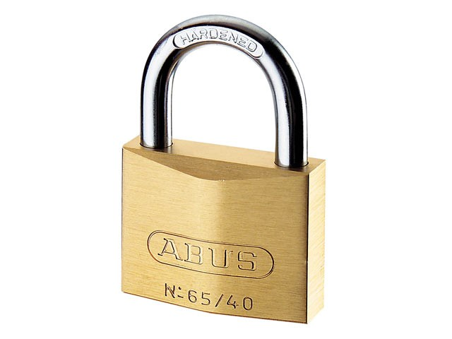 65/40 40mm Brass Padlock Master Keyed MK65401