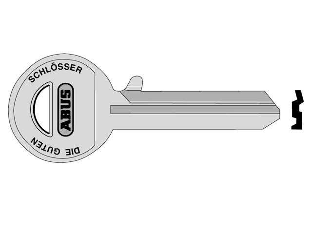 85/70 Left Hand Key Blank
