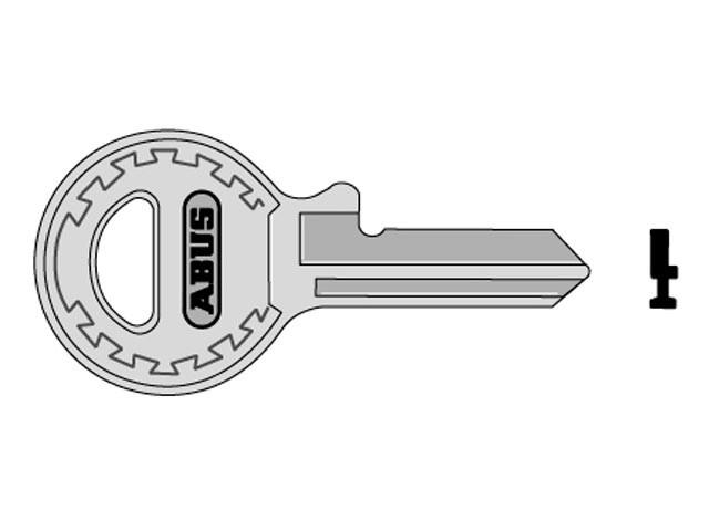 65/15 Right Hand Key Blank 09328