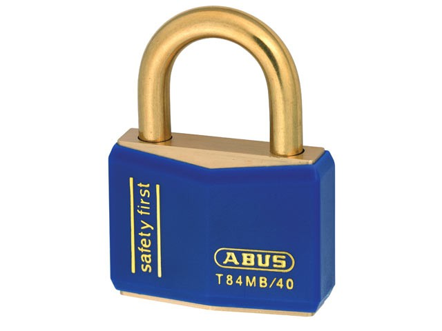 T84MB/40mm Blue Rustproof Padlock