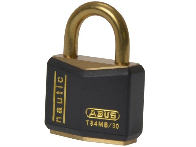 T84MB/30 30mm Black Rustproof Padlock Carded