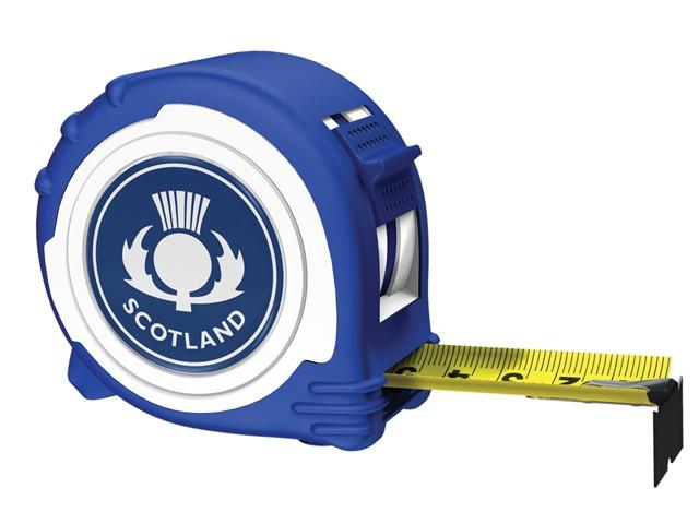 Scotland Logo Tape Blue & White 5m/16ft (Width 25mm)