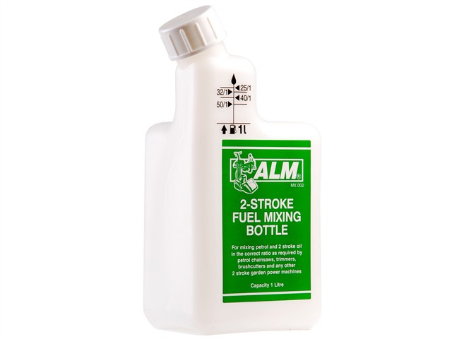 MX002 2 Stroke Premium Fuel Mixing Bottle White