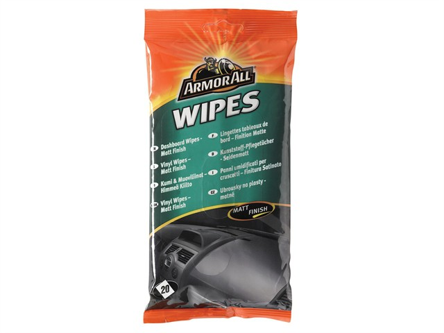 Dashboard Wipes Matt Pouch of 20