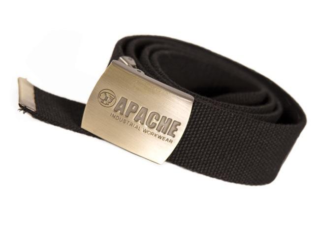 Black Woven Belt