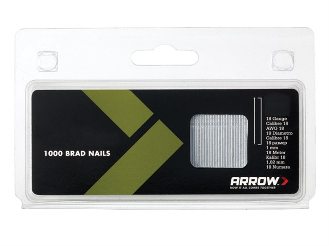 BN1832 Brad Nails 50mm 18g Pack 1000