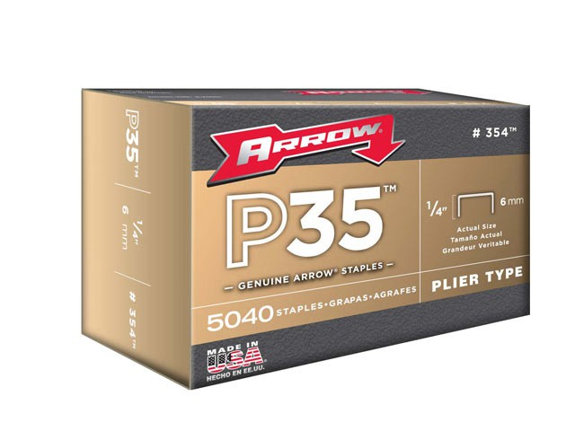 P35 Staples 6mm (1/4in) Box 5040