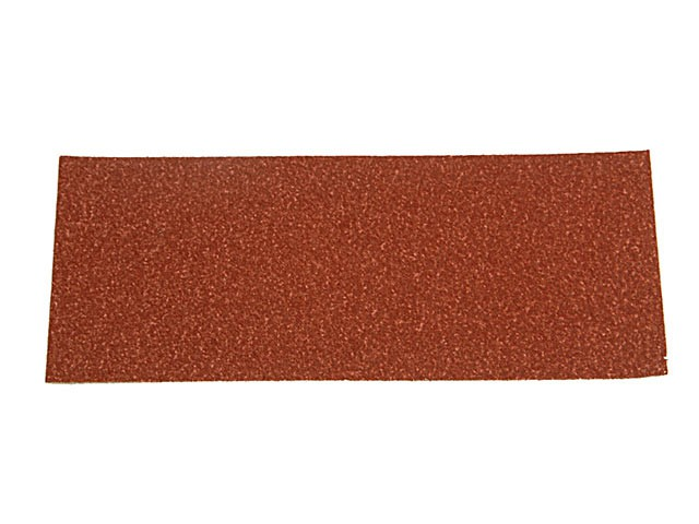 1/2 Sanding Sheets Orbital Plain Medium 100 Grit (Pack of 5)