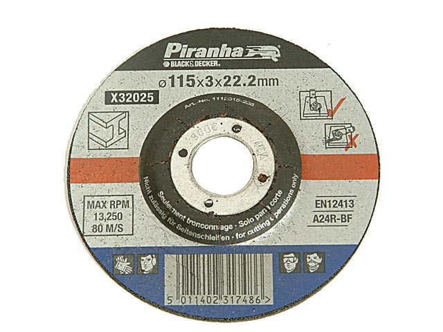 X32075 Proline Cut Off Disc for Stone 115mm