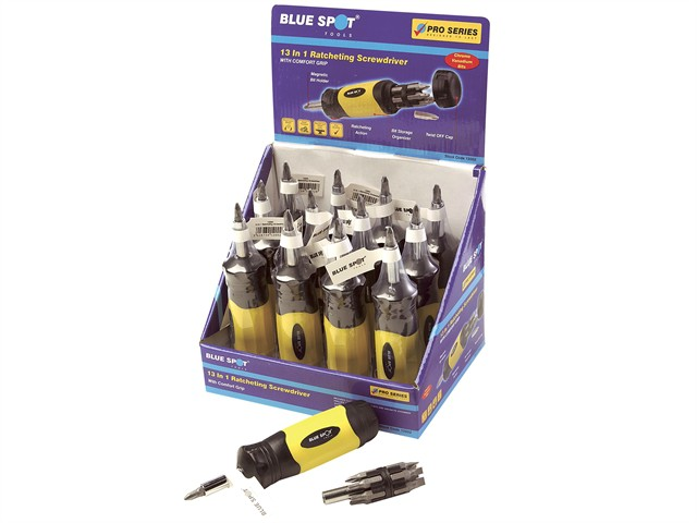 Ratcheting Screwdriver 13 in 1