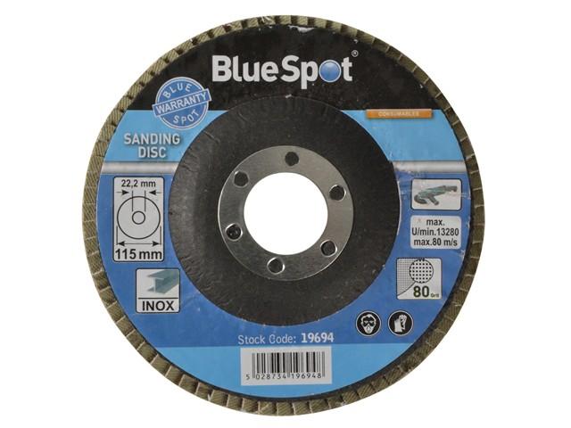Sanding Flap Disc 115mm 80 Grit
