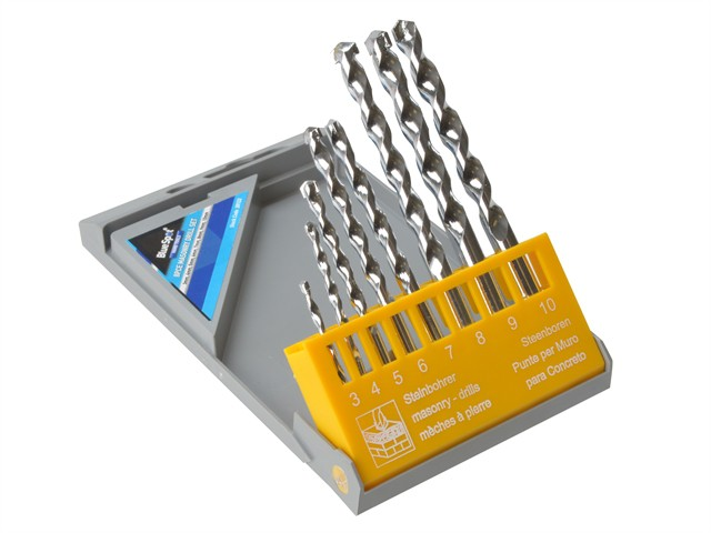 Masonry Drill Set of 8 3.0-10.0mm