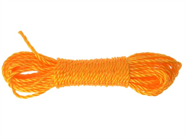 6mm Soft Poly Rope 15m (50ft)