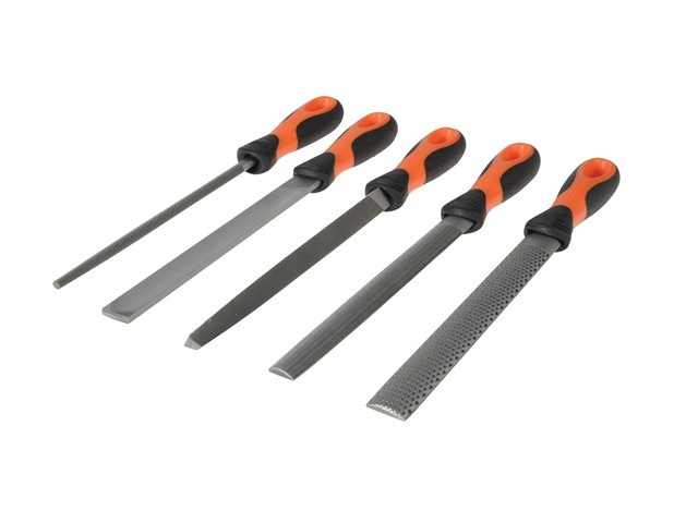 File Set 5 Piece 1-477-08-2-2 200mm (8in)