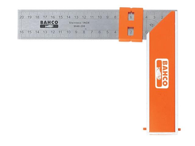 9048-250 Aluminium Block & Steel Try Square 250mm