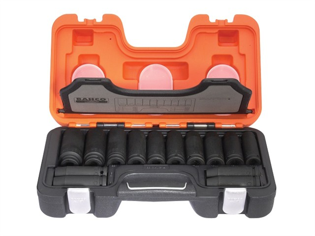 DD/S14 Deep Impact Socket 14 Piece Set 1/2in Square Drive