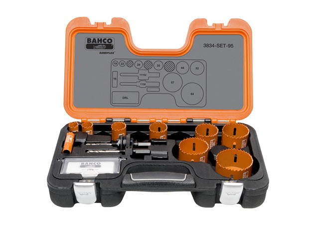 Professional Holesaw Set 3834-95 Sizes: 16-64mm