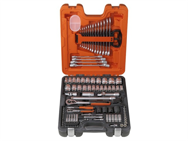 S106 Socket & Spanner Set of 106 Metric 1/4 & 1/2in Drive