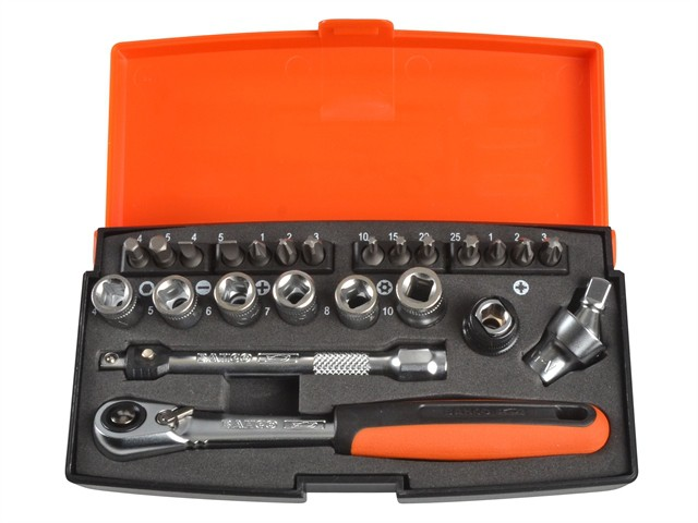 SL24 Socket Set of 24 Metric 1/4in Drive